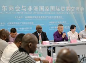 白云区举行国外广东商会与非洲国家国际贸易交流会