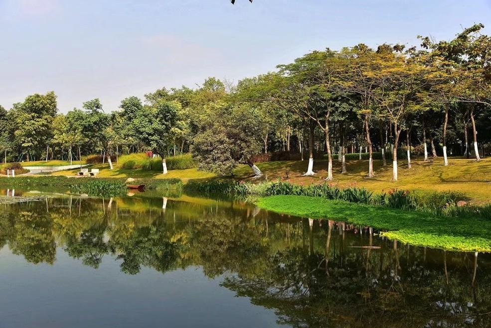 广州白云湖